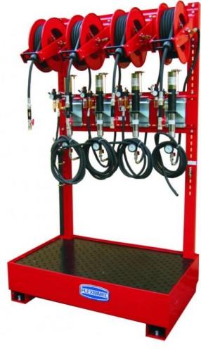 Kit di aspirazione fluidi pneumatico